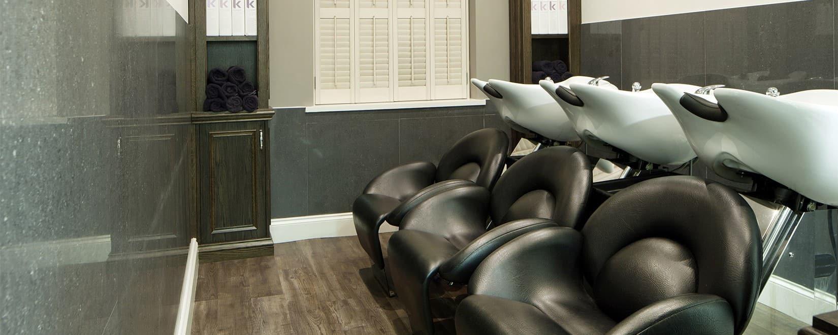 M Salons - Hairdressers Bishops Stortford - Interior Washing