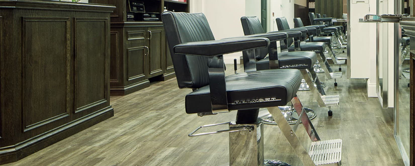 M Salons - Hairdressers Bishops Stortford - Interior Chair