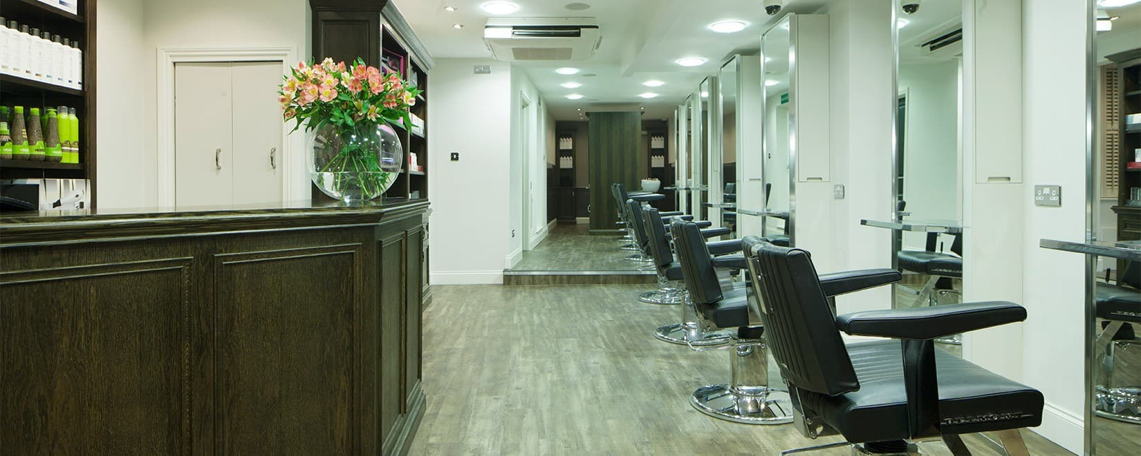 M Salons - Hairdressers Bishops Stortford - Interior Shop